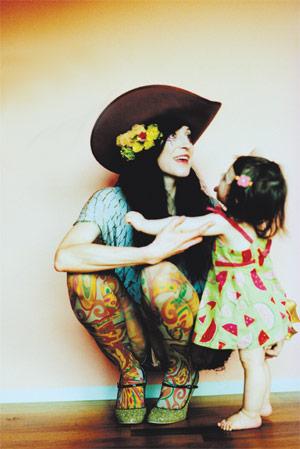 Floria and daughter, Tosca