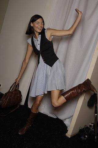 Erin Fetherston Backstage
