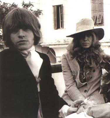 Brian Jones & Anita Pallenberg