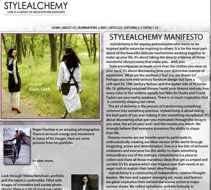 stylealchemy screenshot