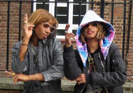 Santogold and M.I.A
