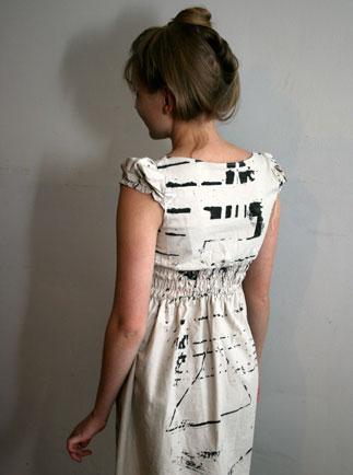 Peeps paint dress on stylealchemy