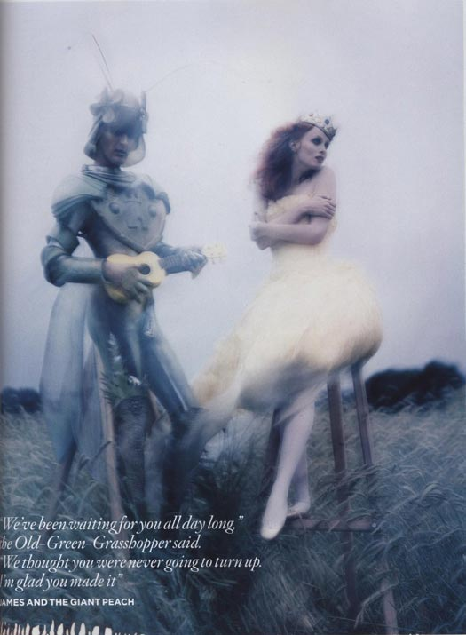 Tim Walker Vogue Dahl editorial on stylealchemy