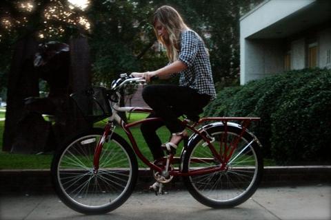 Bike and Heels on stylealchemy