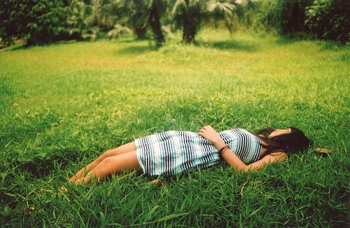 layinthe-grass