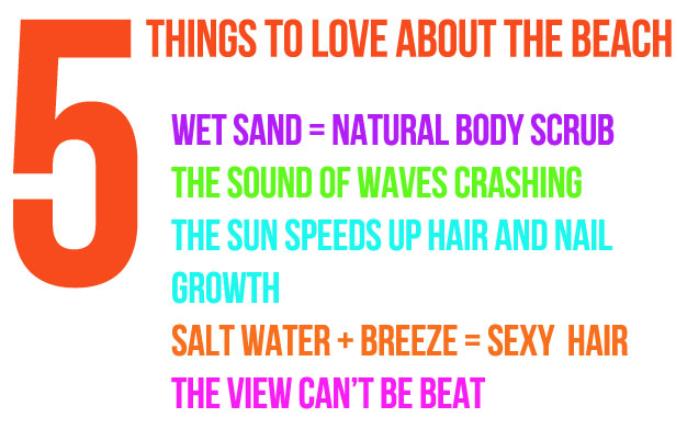 5thingstoloveaboutthebeach