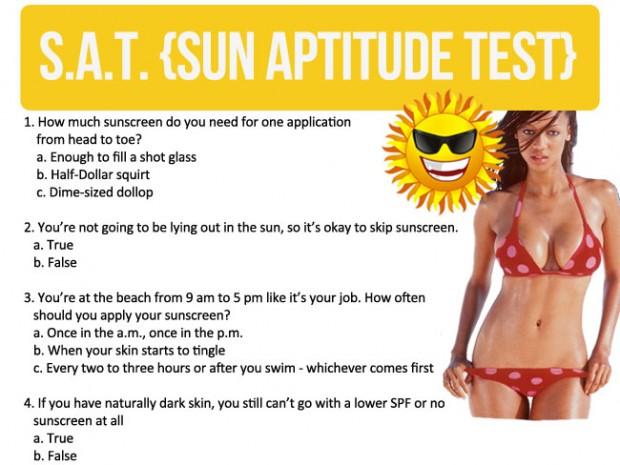 {S.A.T. Sun Aptitude Test}