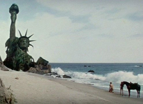 The Planet of the Apes & The Statue of Liberty via stylealchemy
