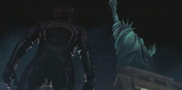 Wolverine & The Statue of Liberty via stylealchemy