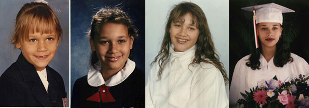 rashida jones awkward school photos