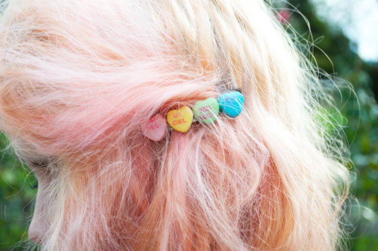 Kailey of Mermaidens Hair Clip